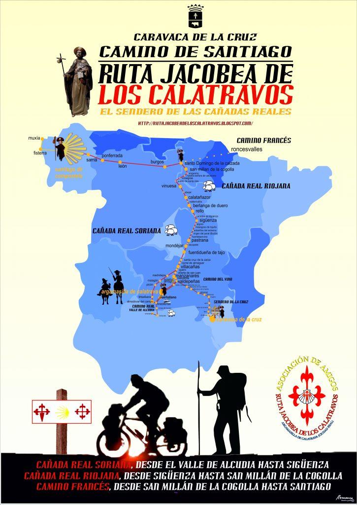 cartel-a3-2016-ruta-jacobea-caravaca-de-la-cruz