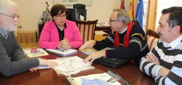 Reunión con la Delegada de la Junta de Comunidades de Castilla-La Mancha de Ciudad Real